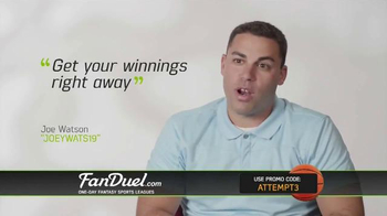 FanDuel One-Day Fantasy Basketball Leagues TV Spot, 'Nothing to Lose' - Thumbnail 7