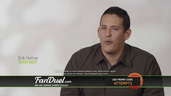 FanDuel One-Day Fantasy Basketball Leagues TV Spot, 'Nothing to Lose' - Thumbnail 8