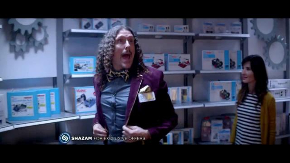 Radio Shack TV Commercial, 'Toyland' Featuring Weird Al Yankovic