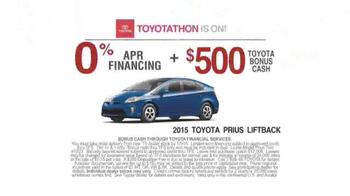 Toyota Toyotathon TV Spot, 'Dance' - Thumbnail 6