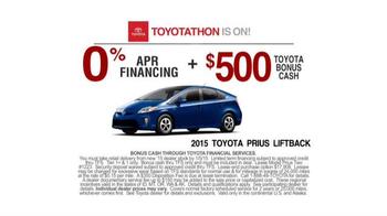 Toyota Toyotathon TV Spot, 'Dance' - Thumbnail 7