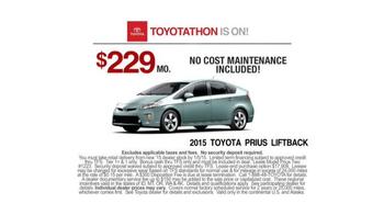 Toyota Toyotathon TV Spot, 'Dance' - Thumbnail 9
