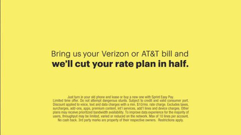 Sprint TV Spot, 'Cut Your Bill in Half' - Thumbnail 10