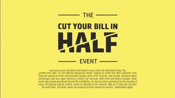 Sprint TV Spot, 'Cut Your Bill in Half' - Thumbnail 8