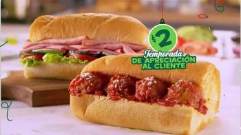 Subway $2 Temporada de Apreciación al Cliente TV Spot, 'Gracias' [Spanish] - Thumbnail 9