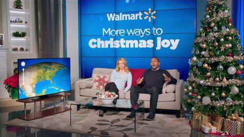 Walmart TV Spot, 'Tracking Santa' Feat. Melissa Joan Hart, Anthony Anderson - Thumbnail 1