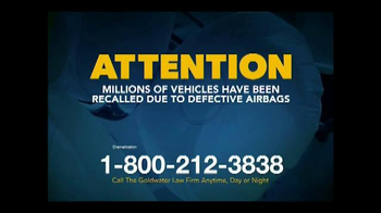 Goldwater Law Firm TV Spot, 'Defective Airbags' - Thumbnail 2