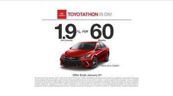 2015 Toyota Camry TV Spot, 'Test-Drive' - Thumbnail 6