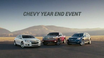 Chevrolet Year End Event TV Spot, 'Best Offers of the Year' - Thumbnail 7