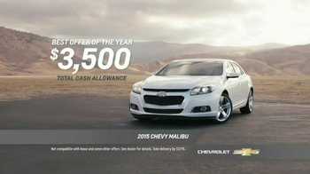 Chevrolet Year End Event TV Spot, 'Best Offers of the Year' - Thumbnail 8