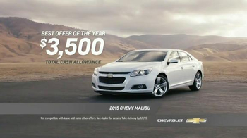 Chevrolet Year End Event TV Spot, 'Best Offers of the Year' - Thumbnail 9