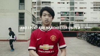 Chevrolet TV Spot, 'I Play For Manchester United' - 36 commercial airings