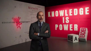 The More You Know TV Spot, 'Knowledge is Power' Featuring Matt Lauer - Thumbnail 2