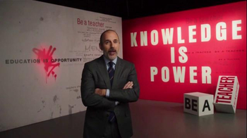 The More You Know TV Spot, 'Knowledge is Power' Featuring Matt Lauer - Thumbnail 4