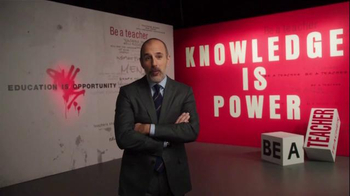 The More You Know TV Spot, 'Knowledge is Power' Featuring Matt Lauer - Thumbnail 7
