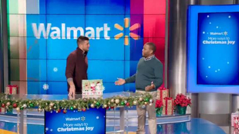 Walmart TV Spot, 'Man Gifting' Featuring Tim Tebow and Anthony Anderson - Thumbnail 1