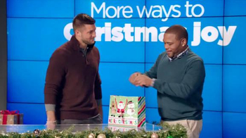 Walmart TV Spot, 'Man Gifting' Featuring Tim Tebow and Anthony Anderson - 28 commercial airings