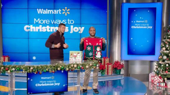 Walmart TV Spot, 'Man Gifting' Featuring Tim Tebow and Anthony Anderson - Thumbnail 3