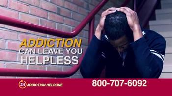 24 Hour Addiction Helpline TV Spot, 'It Can Destroy Your Life' - Thumbnail 2