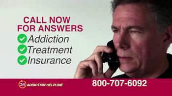 24 Hour Addiction Helpline TV Spot, 'It Can Destroy Your Life' - Thumbnail 9