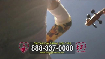 Shriners Hospitals TV Spot, 'What Your Donation Can Do' Ft. Carl Weathers - Thumbnail 9