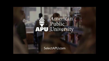 American Public University TV Spot, 'When and Where' - Thumbnail 10