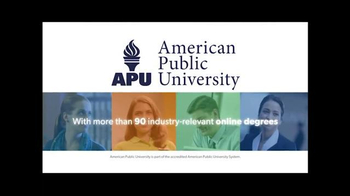 American Public University TV Spot, 'When and Where' - Thumbnail 6