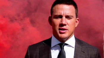 Esquire Magazine December 2014 TV Spot Featuring Channing Tatum