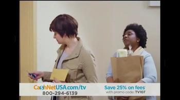 CashNetUSA TV Spot, 'Elevator Ride' - Thumbnail 4