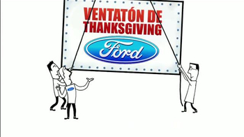 Ford Venatión de Thanksgiving TV Spot, 'Vacaciones' [Spanish] - Thumbnail 9