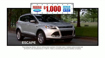 Ford Venatión de Thanksgiving TV Spot, 'Vacaciones' [Spanish] - Thumbnail 3