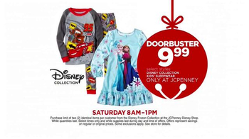 JCPenney Biggest Super Saturday of Them All TV Spot, 'Disney Collection' - Thumbnail 6