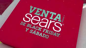 Sears Venta de Black Friday TV Spot, 'Vellón y Herramientas' [Spanish] - Thumbnail 2