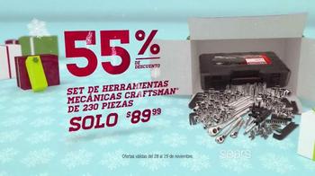 Sears Venta de Black Friday TV Spot, 'Vellón y Herramientas' [Spanish] - Thumbnail 6