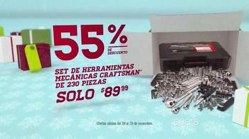Sears Venta de Black Friday TV Spot, 'Vellón y Herramientas' [Spanish] - Thumbnail 7
