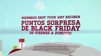 Sears Venta de Black Friday TV Spot, 'Vellón y Herramientas' [Spanish] - Thumbnail 9