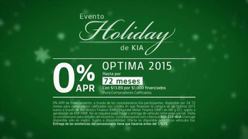 2015 Kia Optima TV Spot, 'Evento Holiday de Kia' [Spanish] - Thumbnail 8