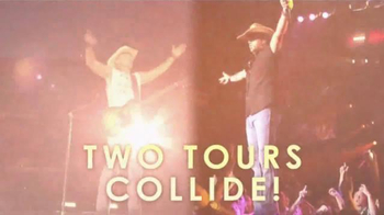 Kenny Chesney The Big Revival Tour, Jason Aldean Burn It Down Tour TV Spot - Thumbnail 2