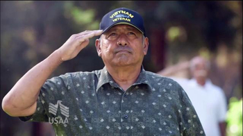 USAA Salute to Service TV Spot, 'Base Visits'
