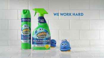 Scrubbing Bubbles Bathroom Cleaner TV Spot, 'New Pet' - Thumbnail 9