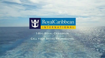 Royal Caribbean Cruise Lines WOW Sale TV Spot, 'BOGO 50% Off' - Thumbnail 10