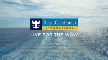 Royal Caribbean Cruise Lines WOW Sale TV Spot, 'BOGO 50% Off' - Thumbnail 9