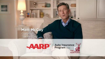 AARP Hartford Auto TV Spot, 'Auto Savings' Featuring Matt McCoy - Thumbnail 2