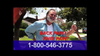 Pain Relief Hotline TV Spot, 'Suffering from Back or Knee Pain?' - Thumbnail 2
