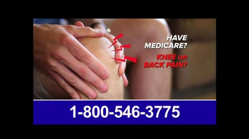 Pain Relief Hotline TV Spot, 'Suffering from Back or Knee Pain?'