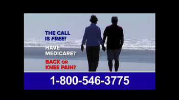 Pain Relief Hotline TV Spot, 'Suffering from Back or Knee Pain?' - Thumbnail 8