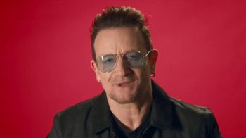 Bank of America (Red) TV Spot, 'One Step Closer' Featuring Bono - Thumbnail 4