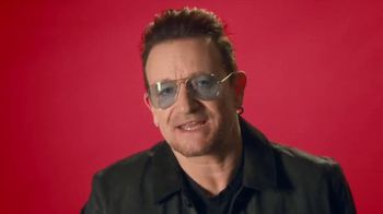 Bank of America (Red) TV Spot, 'One Step Closer' Featuring Bono - 4 commercial airings