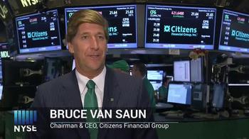 New York Stock Exchange TV Spot, 'Citizen Financial Group' - Thumbnail 3