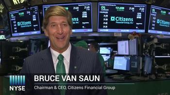 New York Stock Exchange TV Spot, 'Citizen Financial Group' - Thumbnail 4